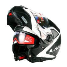 ECE moto helmet double sun lens full face motorbike helmet