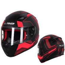 ABS safe structure casque moto capacete ls2 RAPID street racing helmets