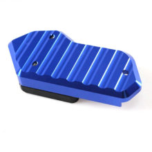CNC Aluminum Side Stand Extension Plate pad For KYMCO AK550