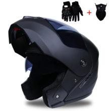 Modular Dual lens Motorcycle Helmet full face Safe helmets Casco capacete casque moto