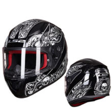 Rapid full face motorcycle helmet ABS