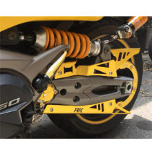 Motorcycle Belt Guard Cover Protector Gold For KYMCO AK550 AK 550