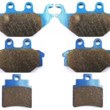 Sintered Brake Pad Set fit for KYMCO 250 Urban Quad 2006 Front Rear 06