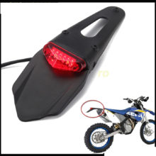 Polisport Motorcycle LED Tail Light Rear Fender